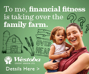 graphic shows advertisement for Westoba Credit Union