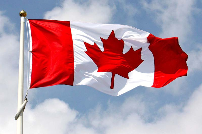 photo shows Canada flag (file Southwst Post)