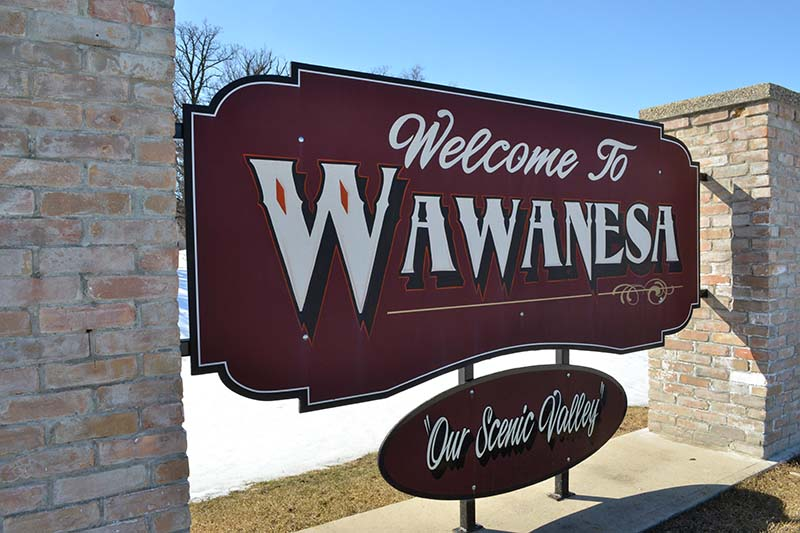 photo shows Wawanesa town sign (file Southwest Post)
