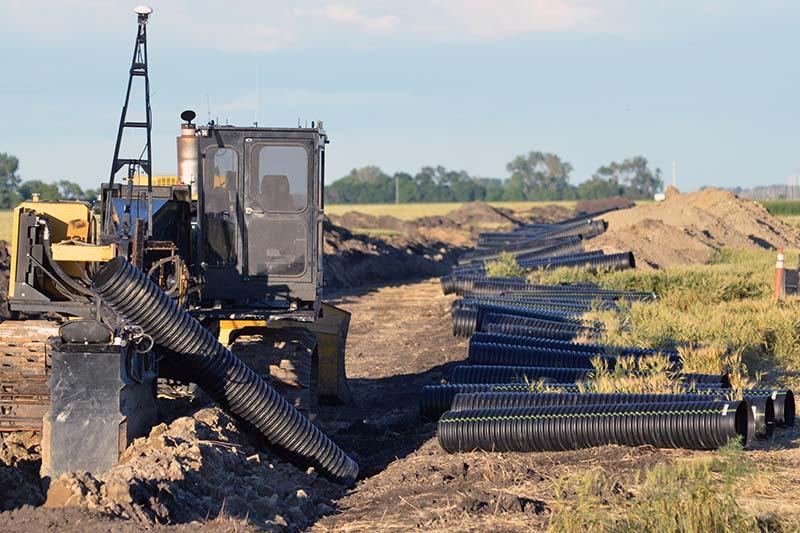 Council Questions Province  Businesses About Tile Drainage